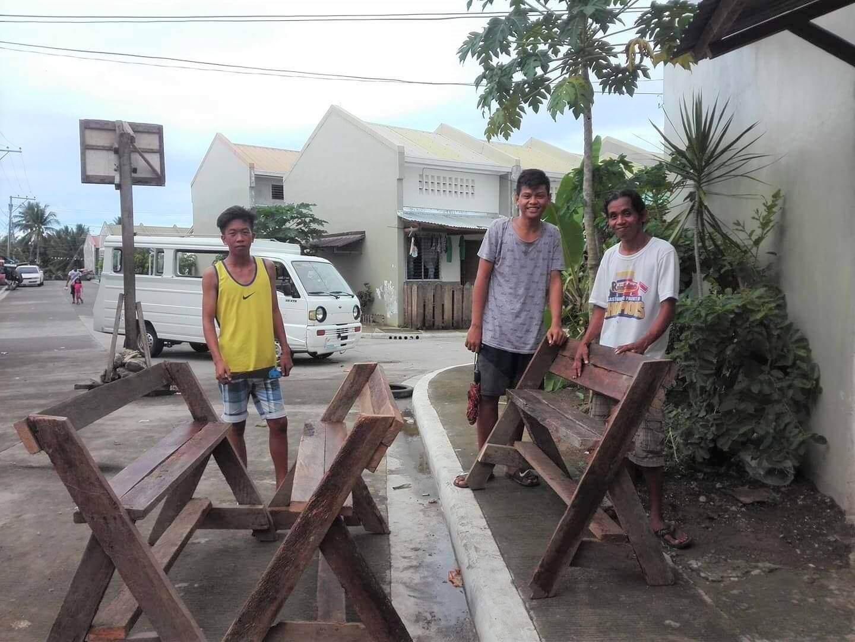 Des nouvelles de notre équipe de volontaires et de leur avancement à Tacloban Nord aux Philippines