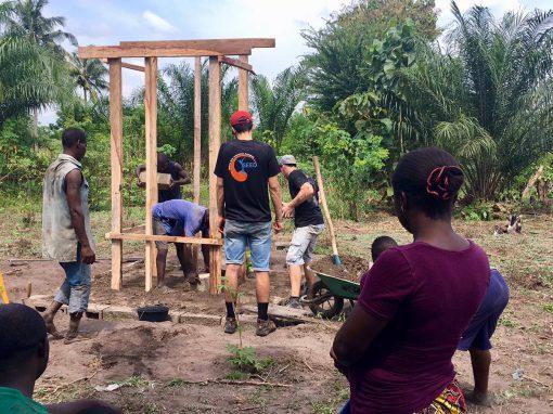 ECOSANITERRE : La construction en terre au service de l'assainissement des zones rurales au Togo