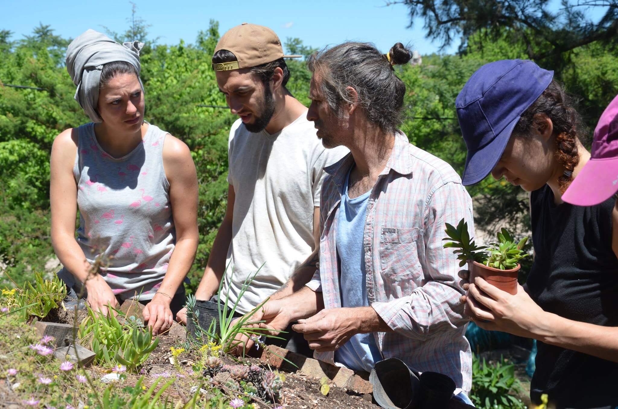 Ateliers de formation à l'auto-construction écologique et solidaire en Argentine